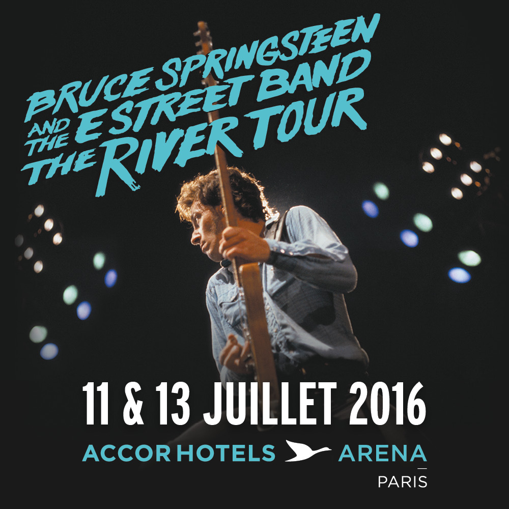 Bruce Sringsteen & The E. Street Band - The River Tour Europe, France