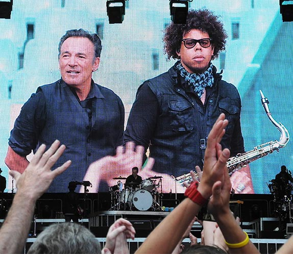 Bruce Springsteen & Jake Clemons, Stade de France, Paris